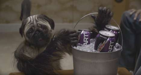 Creature Hybrid Commercials - Mountain Dew's Super Bowl Commercial Stars a 'Puppymonkeybaby'