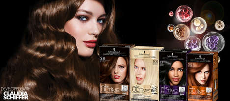 Pearl-Infused Hair Color - The Schwarzkopf color ULTIME Collection Brings Shine and Softness