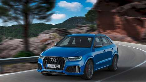Turbocharged Compact Cars - The Audi RS Q3 Performance Car Features Extra Engine Juice