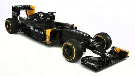 Supercharged Competitive Racecars - The New Renault Formula One Car Features a Brand New Power Unit