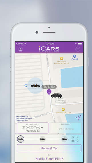 Chauffeured Ride Apps - The iCars App Offers Rides Within San Francisco For $50