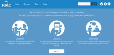 Convenient Clinic Apps - The 'Skip the Waiting Room' App Helps You Avoid Long Waits