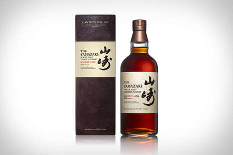 Asian Sherry Whiskeys - The Yamazaki is a Hybrid Liquor with Robust Oak Notes