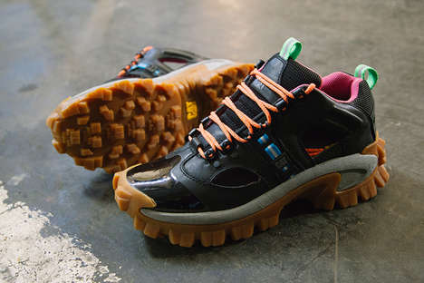 Industrial Adventure Sneakers - The Christopher Shannon x CAT Shoes Offer Atheletic-Style Boots