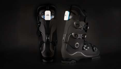 Smart Skiing Boots - Carv's Wearable Tech Revolutionizes Winter Sports
