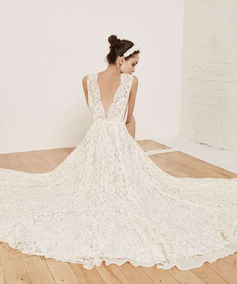 Affordable Eco Bridal Gowns - This Spring 2016 Bridal Collection Contains Colorful Wedding Dresses
