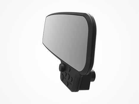 Discreet Rearview Mirror Cameras - The 'GoSafe 260' HD Dashcam Features Motion-Detection Technology