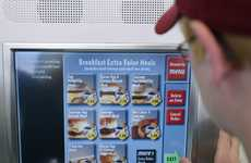Digital Ordering Kiosks - These McDonald's Menu Boards Let Patrons Place Orders from Their Table