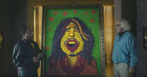 Candy Portraiture Commercials - This Skittles Super Bowl Ad Features the Legendary Steven Tyler