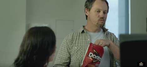 Outrageous Chip Ads - The Doritos Super Bowl Commercial is Both Shocking and Humorous