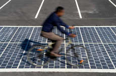 Solar-Paved Roads - This Energy-Generating Pavement Produces Renewable Energy