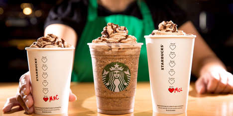 Temporary Valentine's Day Menus - This Chain is Offering Limited-Edition Valentine's Day Beverages