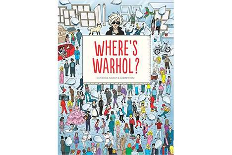 Pop Art Search Books - 'Where's Warhol?' Takes Andy Warhol on a Waldo-Themed Adventure