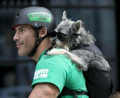 Canine-Carrying Knapsacks