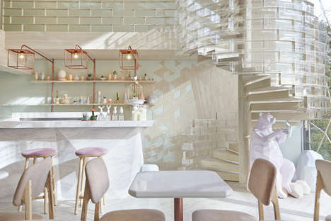 Parisian Ice Cream Bars - This Bangkok Dessert Bar is Inspired by the Molecular Makeup of Sugar