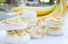 Satisfying Frozen Banana Treats - These Frozen Yogurt Banana Bites Offer a Health Way to Indulge