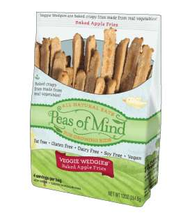 Veggie-Based Frozen Snacks - 'Peas of Mind' Veggie Snacks Come in Healthy Yet Delicious Varieties