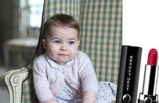 This Marc Jacobs Lipstick Celebrates England's Princess Charlotte