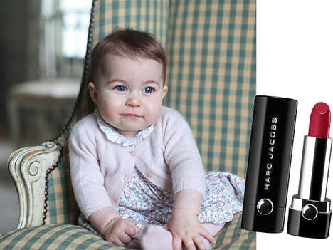 Princess-Honoring Lipsticks - This Marc Jacobs Lipstick Celebrates England's Princess Charlotte