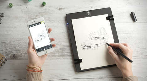 Digitized Sketch Pads - This Tablet Allows Artists to Digitally Record Their Creations