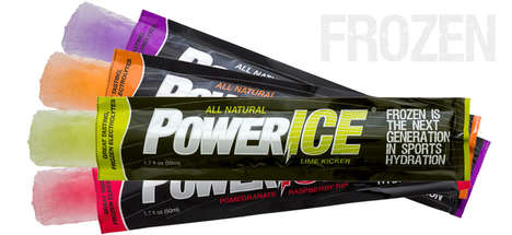 Healthy Hydration Popsicles - PowerICE Makes Frozen Treats to Support Physical Activities