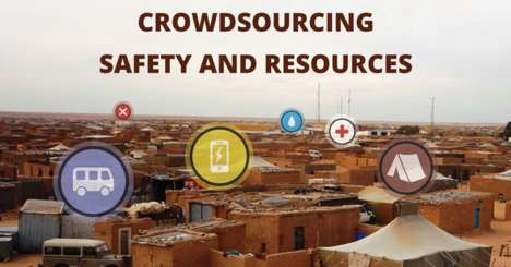 40 Refugee-Focused Aid Initiatives - From Crowdsourced Security Apps to Robotic Life Preservers