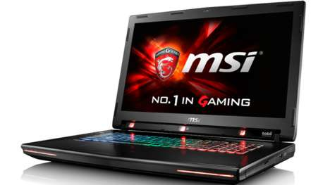 Eye-Tracking Gaming Laptops - The MSI GT72S G Tobii Translates Eye Movements Into Gaming Commands