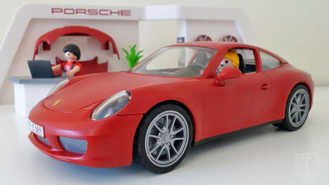 Flawless Replica Cars - The Playmobil Porsche 911 Carrera Model is Magnificently Realistic