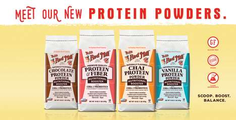 Tea-Flavored Protein Powders - The Bob's Red Mill Chai Supplement Can be Used in Drinks and Baking