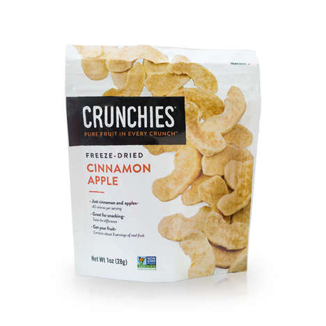 Freeze-Dried Fruit Snacks - Crunchies Offers Fresh, Crunchy and Healthy Fruit Snacks