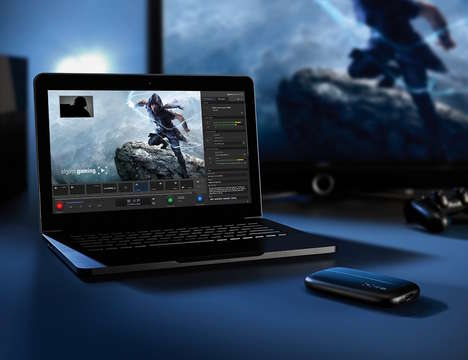Video Game-Recording Gadgets - The Elgato HD60 Game Capture Device Makes Sharing Gameplay Simple