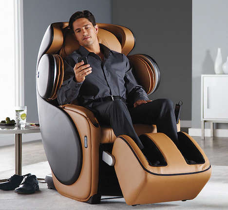 App-Connected Massage Chairs - The OSIM 'uDivine' Massage Seat Provides Customized Pain Relief