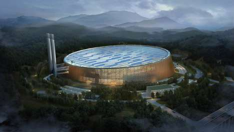 Waste-Powered Energy Plants - The Shenzhen East Waste-to-Energy Plant Will Divert a Third of Waste