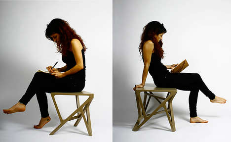 Irregular Interconnected Furniture - The 'Branca' Seating Furniture is Beautifully Unexpected