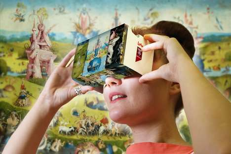 VR Painting Experiences - Hieronymus Bosch's Artwork Now Immerses the Viewer in Virtual Reality