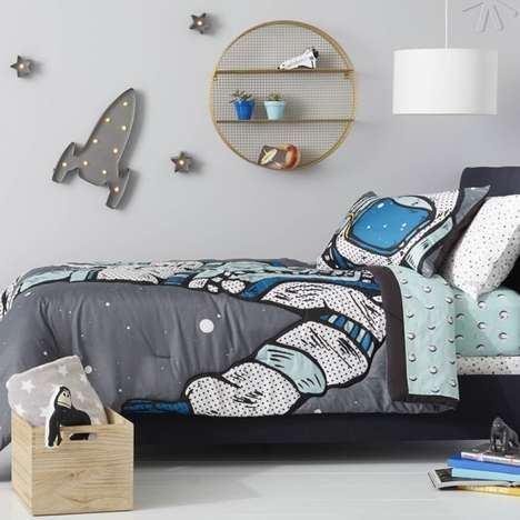 Androgynous Bedroom Decor - Target's Pillowfort Range Offers Furniture for Both Girls and Boys