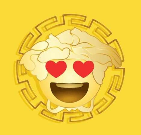 Couture Emoji Apps - You Can Now Bring Designer Imagery to Your Selfies with Versace Emojis