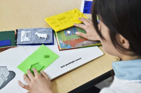 3D-Printed Picture Books - The Tactile Picture Books Project Helps Blind Children Follow a Story