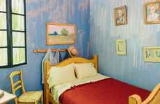 This Airbnb Bedroom is Designed to Look like Van Gogh's Home
