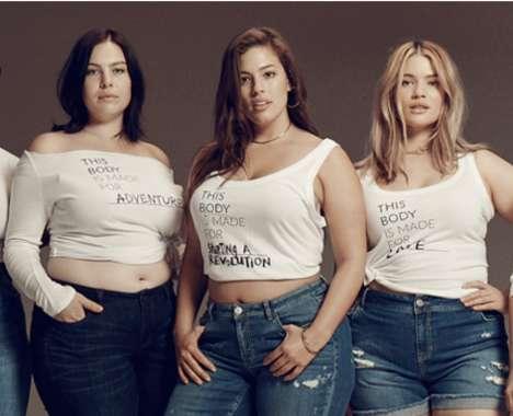Body Inclusivity Fashion Ads