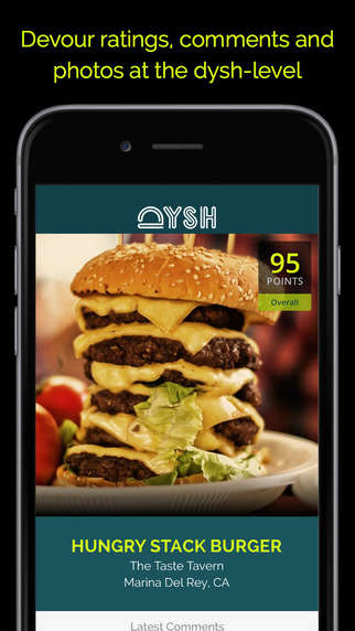 Food-Appreciation Apps - The Dysh App Helps You Decide What Food to Order