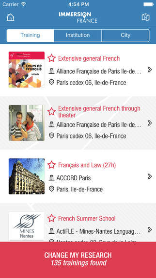 French Immersion Apps - The Immersion France App Offers French Language Courses
