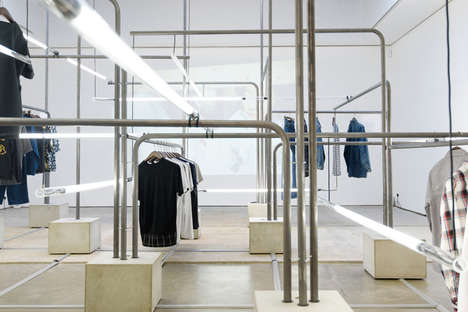 Japanese Fashion Exhibitions - The MR PORTER x BEAMS Exhibition in London is Japan-Inspired