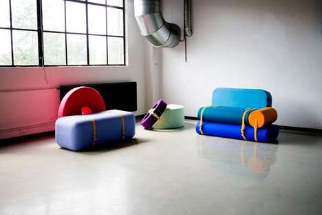 Playful Modular Furniture - Tijs Gilde's Customizable Furniture is Both Fun and Functional