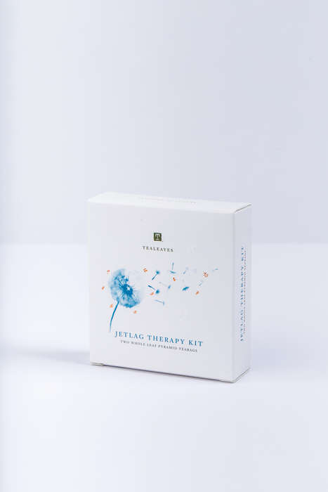 Therapeutic Travel Teas - TEALEAVES' 'Jetlag Therapy Kit' Leaves Travelers Feeling Refreshed
