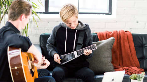 Digital Guitar Teachers - The 'jamstik+' Streamlines the Learning Process to Speed Up Comprehension
