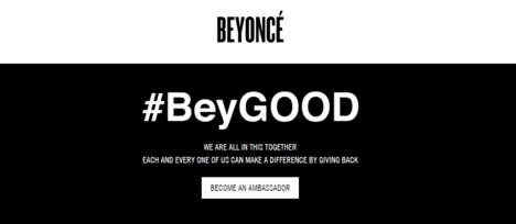 Celebrity-Led Clean Water Campaigns - The #BeyGood Campaign Tackles Flint's Water Crisis