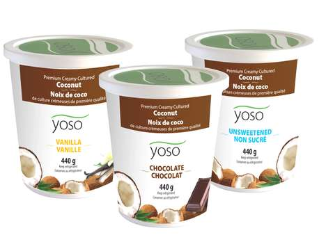 Coconut-Based Vegan Yogurts - YOSO Yogurt Offers Dairy-Free Snacks That Adhere to Diet Restrictions