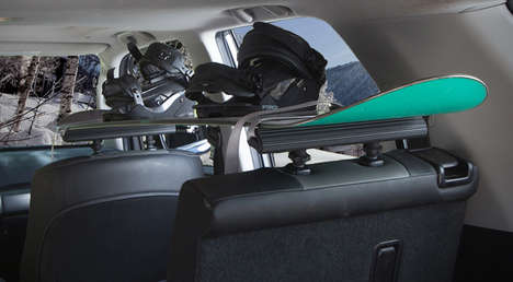 Interior Cargo Racks - The 'SeatRack' Makes It Easier to Transport Oversized Cargo