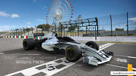 Safety-Focused Race Cars - These Formula 1 Race Car Concepts Reimagine the Design of Vehicles